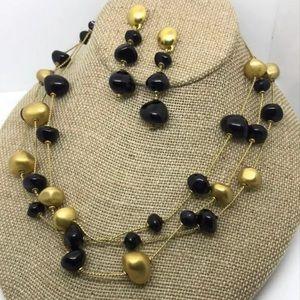 Vintage Ann Klein Necklace/ Earrings